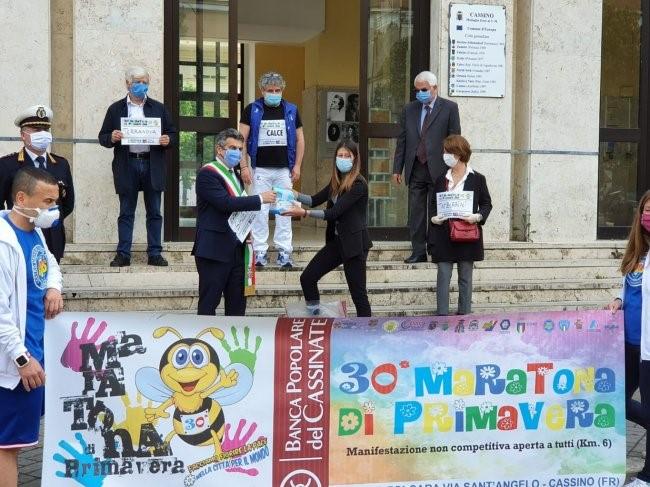 Coronavirus, Cus Cassino e Unicas donano 500 mascherine al Comune